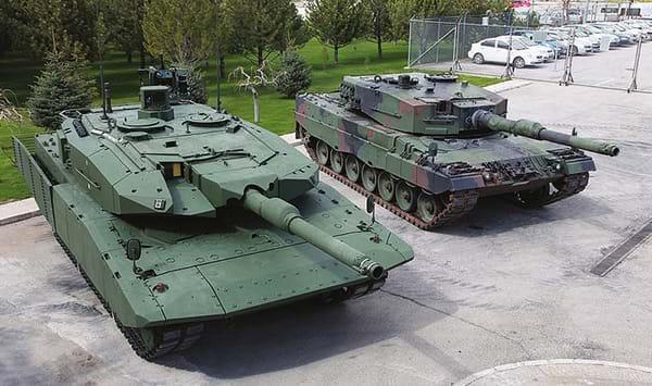 Leopard 2A4 NG tank