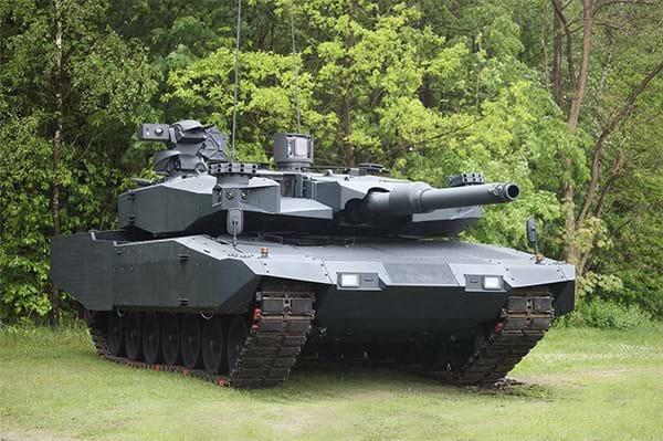 Leopard 2A4 Revolution tank