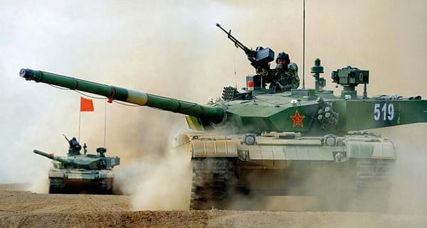 Type 99 A2 tank