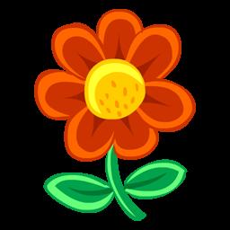kırmızı bir çiçek
