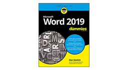 microsoft word 2019 for dummies